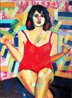 Obraz do salonu artysty Piotr Kachny pod tytułem Sun Dance