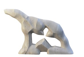 Living room sculpture by Antoni Pastwa titled Horse XI