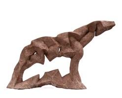Rzeźba do salonu artysty Antoni Pastwa pod tytułem Kon IX