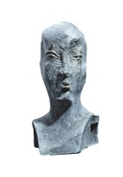 Living room sculpture by Antoni Pastwa titled Portrait of Ms. M