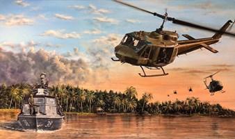 Grafika do salonu artysty Janusz Kulikowski pod tytułem Patrol AP II z XXV