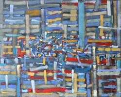 Obraz do salonu artysty Małgorzata Bryndza pod tytułem Imaginacja