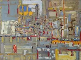 Obraz do salonu artysty Małgorzata Bryndza pod tytułem Moje miasto