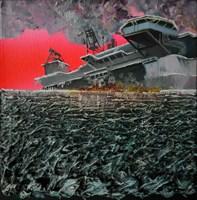 Obraz do salonu artysty Michał Mroczka pod tytułem Koniec platformy