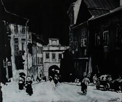 Obraz do salonu artysty Michał Mroczka pod tytułem Lublin