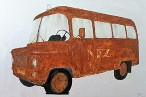 Obraz do salonu artysty Michał Mroczka pod tytułem NFZ