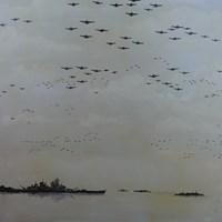 Obraz do salonu artysty Michał Mroczka pod tytułem Ocean Spokojny
