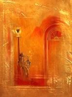Obraz do salonu artysty Victor Mączyński pod tytułem Orange Night