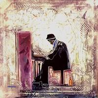 Obraz do salonu artysty Victor Mączyński pod tytułem The Pianist