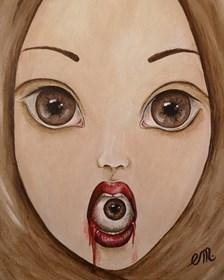 Obraz do salonu artysty Estera Parysz-Mroczkowska pod tytułem Do not swallow