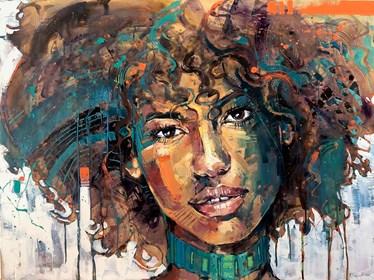 Obraz do salonu artysty Marcin Mikołajczak pod tytułem Portret XXXIII
