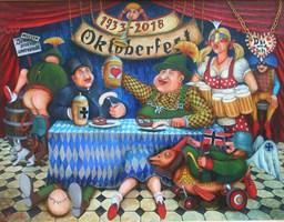 Obraz do salonu artysty Jacek Lipowczan pod tytułem Bawarska sielanka