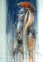 Obraz do salonu artysty Dariusz Grajek pod tytułem Andromeda.....