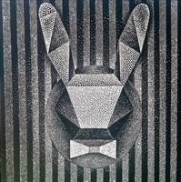 Obraz do salonu artysty Ryszard Rabsztyn pod tytułem Rabbit