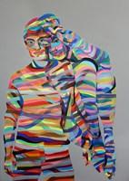 Obraz do salonu artysty Paweł Dąbrowski pod tytułem W Pamięci