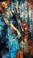 Obraz do salonu artysty Krystyna Róż-Pasek pod tytułem Moment Skupienia
