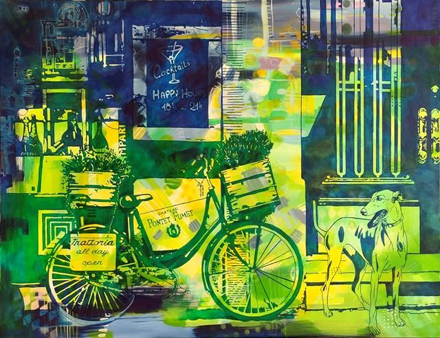 Obraz do salonu artysty Joanna Szumska pod tytułem Trattoria