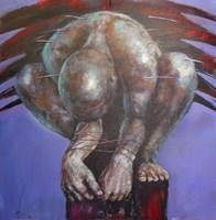 Obraz do salonu artysty Piotr Jakubczak pod tytułem Męski świat