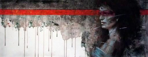 Obraz do salonu artysty Piotr Jakubczak pod tytułem Horyzontalnie