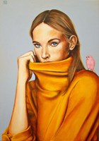 Obraz do salonu artysty Renata Magda pod tytułem Hidden words