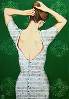 Obraz do salonu artysty Renata Magda pod tytułem Zaklęta w dźwiękch VI