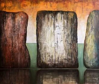 Obraz do salonu artysty Sabina Maria Grzyb pod tytułem Trzy Gracje