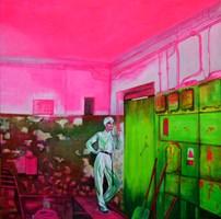 Obraz do salonu artysty Magdalena Zalewska (Mlena) pod tytułem Przystań V