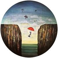 Obraz do salonu artysty Sabina Maria Grzyb pod tytułem Uciekinierzy