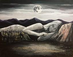 Obraz do salonu artysty Sabina Maria Grzyb pod tytułem Królowa Snów