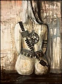Obraz do salonu artysty Sabina Maria Grzyb pod tytułem Ona