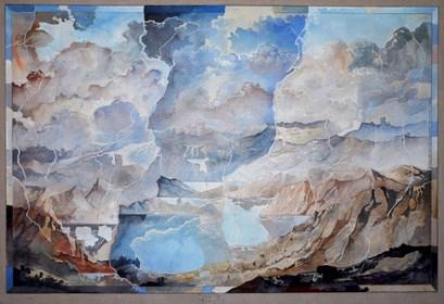 Obraz do salonu artysty Krzysztof Wieczorek pod tytułem Bez tytułu