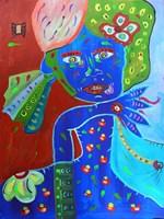 Obraz do salonu artysty Radosław Pytelewski pod tytułem Grażyna w Norwegii