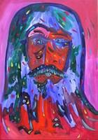 Obraz do salonu artysty Radosław Pytelewski pod tytułem Dziadek fioletowy