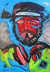 Obraz do salonu artysty Radosław Pytelewski pod tytułem Meksykanin hodowca
