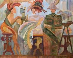 Obraz do salonu artysty Andrzej Wroński pod tytułem Kantyna