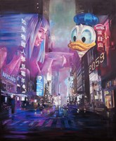Obraz do salonu artysty Janusz Orzechowski pod tytułem Skyline 2059
