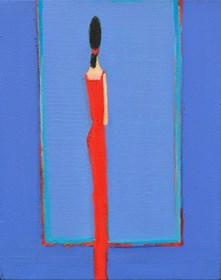 Obraz do salonu artysty Zbigniew Nowosadzki pod tytułem W czerwieni