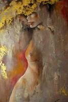 Living room painting by Iwona Wierkowska-Rogowska titled Women secrets