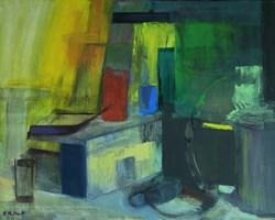 Obraz do salonu artysty Katarzyna Nolbert-Presia pod tytułem Kompozycja w kolorze