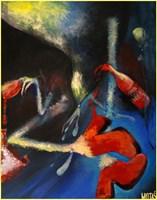 Obraz do salonu artysty Justyna Wojtaś pod tytułem Wine is fine.