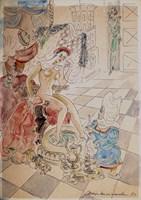 Obraz do salonu artysty Maja Berezowska pod tytułem Bez tytułu 1