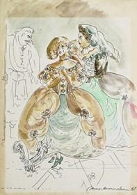 Obraz do salonu artysty Maja Berezowska pod tytułem Bez tytułu 3