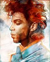 Grafika do salonu artysty Robert Konrad pod tytułem Prince