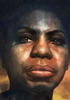 Grafika do salonu artysty Robert Konrad pod tytułem Nina Simone