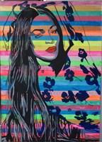 Obraz do salonu artysty Ilona  Foryś pod tytułem Naomi