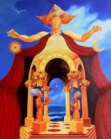 Obraz do salonu artysty Piotr Horodynski pod tytułem Dzień i noc