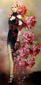 Obraz do salonu artysty Marlena Selin pod tytułem Androida flora III