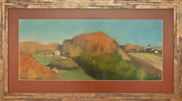 Obraz do salonu artysty Agnieszka Korczak pod tytułem Jurajska jesień