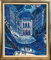 Obraz do salonu artysty Edward Dwurnik pod tytułem Politechnika