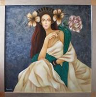 Obraz do salonu artysty Beata Krystek-Borkowska pod tytułem Bogini